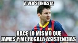 Enlace a Espera sentado, Messi...