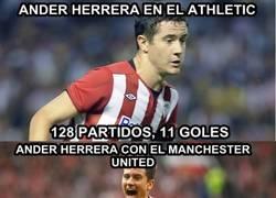 Enlace a Increíbles estadísticas de Ander Herrera tras su llegada al United