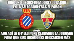 Enlace a El calendario tan raro en la liga española