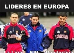 Enlace a El cuerpo técnico de Barça hace unos años hoy triunfa en Europa