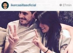 Enlace a EPIC WIN de un comentario en el Instagram de Casillas