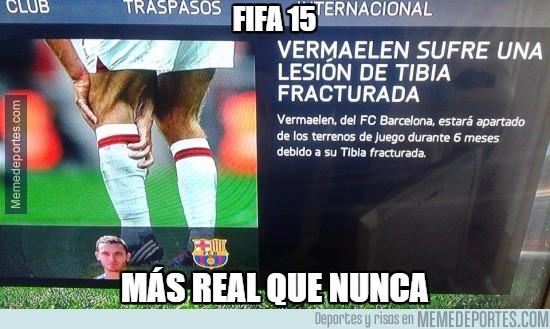 502100 - FIFA 15, más real que nunca