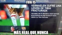 Enlace a FIFA 15, más real que nunca