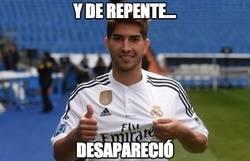 Enlace a Y Lucas Silva de repente...