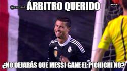 Enlace a Cristiano pidiendo penalti