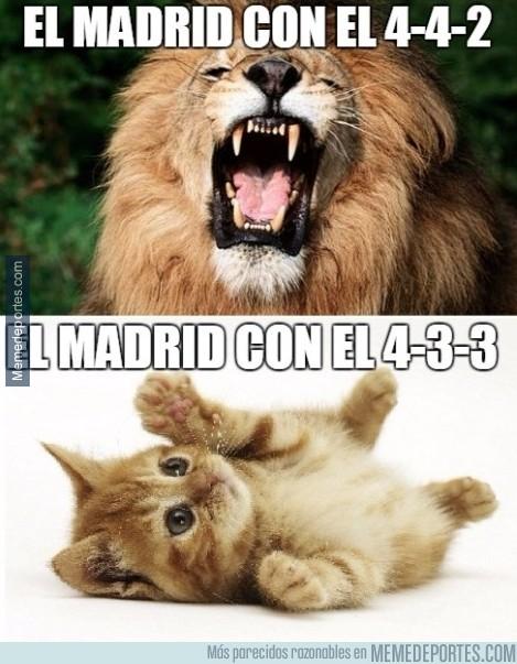 502637 - El Real Madrid jugando con 4-3-3
