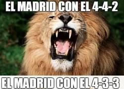 Enlace a El Real Madrid jugando con 4-3-3