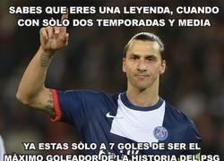 Enlace a Zlatan Ibrahimovic a 7 goles de hacer historia