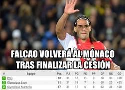 Enlace a La Champions huye de Falcao