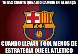 Enlace a Gran cambio del Barça en jugadas de estrategia