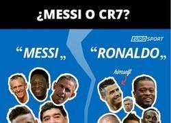 Enlace a ¿CR7 o Messi? Esto opina el mundo del fútbol
