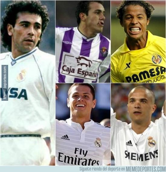 505200 - Los 5 únicos mexicanos que han marcado gol en el Santiago Bernabéu
