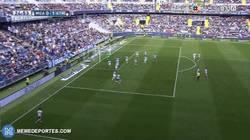 Enlace a GIF: Gol de Griezmann tras cantada de Kameni haciendo un Casillas