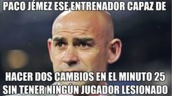 Enlace a Paco Jémez, ese entrenador.