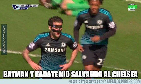 506642 - Batman y Karate Kid salvando al Chelsea