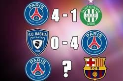 Enlace a ¿Seguirá la buena racha del PSG contra el Barça?