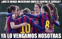Enlace a Siempre hay una venganza. 8-0 del Barça femenino al Sevilla