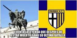 Enlace a Parecidos razonables entre el Mío Cid y el Parma A.C.