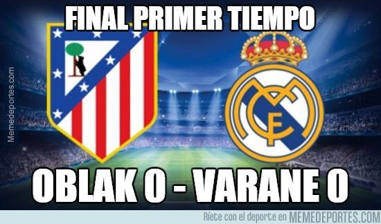 508629 - Final primer tiempo Oblak 0 - Varane 0