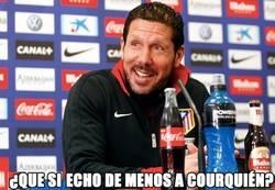Enlace a Los del Atlético ya no se acuerdan de Courtois