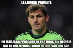 Enlace a @CasillasWorld sigue sumando récords