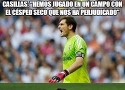Enlace a Casillas está evolucionando en Xavi