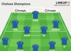 Enlace a La alineación del Chelsea para la Shempions