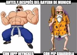 Enlace a Antes y después del Bayern Munich
