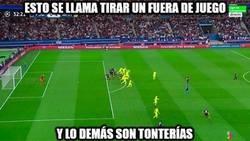 Enlace a El Barça tiene bien aprendido cómo tirar un fuera de juego