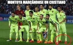 Enlace a Montoya marcándose un Cristiano