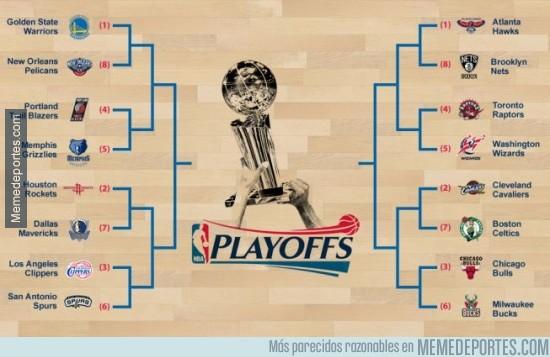 510804 - Ya hay cruces para los Playoffs de la NBA ¿Con qué eliminatoria te quedas?