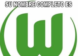Enlace a Partidazo Wolfsburg-Napoli, ¿A que no sabíais su nombre completo?