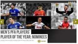 Enlace a La PFA escogió 6 nominados para jugador del año de la Premier. Hagan sus apuestas