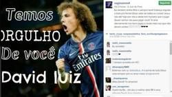 Enlace a La madre de David Luiz sale en defensa de su hijo por los 2 caños de Suárez