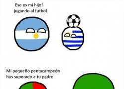 Enlace a El fútbol no es para todos los países