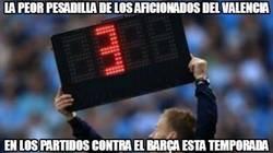 Enlace a La pesadilla del Valencia contra el Barça