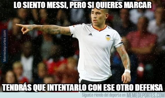 512969 - Vaya partidazo de Otamendi, ha sido una pesadilla para Messi