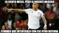 Enlace a Vaya partidazo de Otamendi, ha sido una pesadilla para Messi