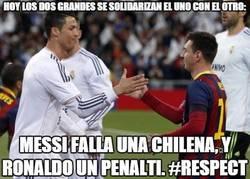 Enlace a Clase de humildad de Cristiano y Messi