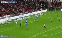 Enlace a GIF: El tercer gol del Athletic contra el Getafe. De cabeza... y no es Aduriz. ¡IBAI!