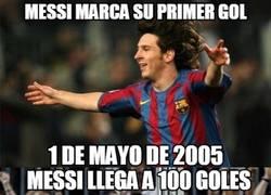 Enlace a Goles para la historia de Messi