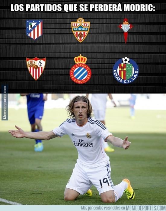 514192 - Los partidos que se perderá Modric, ¿será clave para el Madrid?