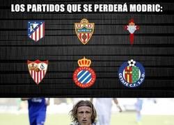 Enlace a Los partidos que se perderá Modric, ¿será clave para el Madrid?