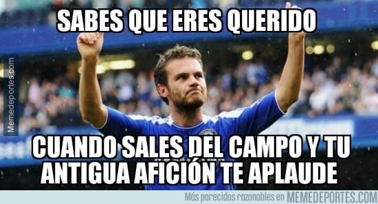 514272 - La afición del Chelsea no olvida a Juan Mata