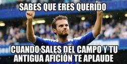 Enlace a La afición del Chelsea no olvida a Juan Mata