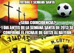 Enlace a Increíbles coincidencias entre fútbol y religión. ¿Casualidad?