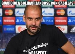 Enlace a Guardiola se merece todo nuestro respecto