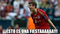 Enlace a Müller, en el Allianz Arena