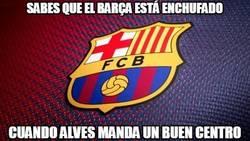 Enlace a Sabes que el Barça está enchufado