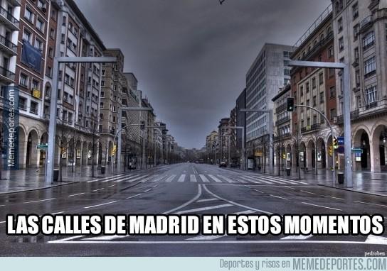 517962 - Así están las calles de Madrid en estos momentos